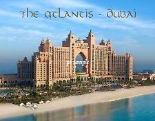 Dubai - THE ATLANTIS - Travel Souvenir Fridge Magnet