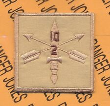 2-10th Special Forces Group AIRBORNE Helmet Cover patch