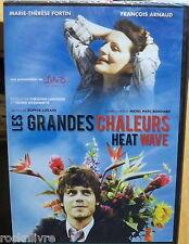 LES GRANDES CHALEURS  DVD R1 (w/ Francois Arnaud :The Borgias) Heat Wave eng sub