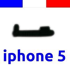 x1 cache anti-poussière NOIR lightning capuchon bouchon jack pour iphone 5 5C 5S