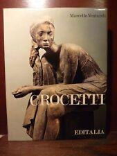 Arte catalogo mostra scultura bronzo Venturoli, CROCETTI 1972 Editalia disegni