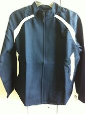 WOMANS RUSSELL ATHLETIC NAVY/WHITE JACKET SIZE LARGE NEW WITH TAGS