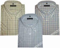 Formal Mens Short Sleeve Casual/Formal Shirt 2XL to 5XL,