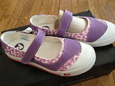 Merrell Sky Jumper MJ Kids Amethyst Hook & Loop Mary Jane Shoes Youth Girl's 7