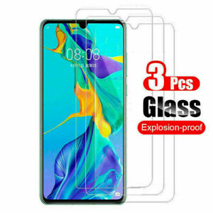 3Pcs Tempered Glass Screen Protector For Huawei P10 P20 P30 P40 Lite Mate 20 30