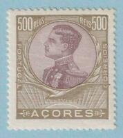 AZORES 124  MINT HINGED OG * NO FAULTS EXTRA FINE!