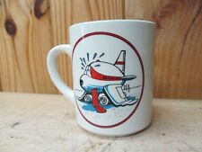 Characature BA 100th anniversary BOAC Boeing 747-400 quality aviation mug