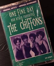 THE CHIFFONS One Fine Day And Other Favorites Cassette Tape NEW