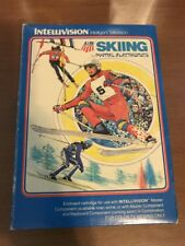 Intellivision - U.S. Ski Team Skiing - Complete in Box w/ clear collector case