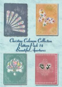 CHRISTINE COLEMAN COLLECTION PATTERN PACK NO 14: BEAUTIFUL APERTURES