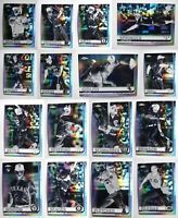 2019 Topps Chrome Negative Refractor Baseball Cards Complete Your Set Pick List