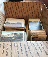 Wholesale Dealer Lot  Of 1000+ Pre-Linen And Linen Antique Postcards