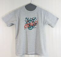 Vintage Jerzees 90s Bowlaway Lane NH STRIKE Dead Stock T-shirt Large