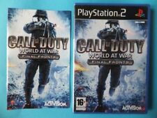 Videojuegos Call of Duty Sony PlayStation 2 PAL