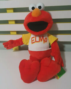 ELMO PLUSH TOY FISHER PRICE 35 YEARS CHARACTER TOY 2005 40CM