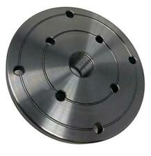 4 Hd Steel Wood Lathe Face Plate 34 X 16tpi Threaded