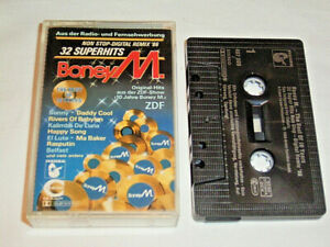 MC Boney M. The Best of 10 Years 32 Superhits Non Stop - Tape