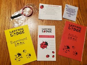 Teacher Classroom Ladybug Lodge Experiments & Certificate for Ladybug Larvae