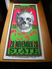 King Crimson ORIGINAL ARMINSKI POSTER 058 State Theatre 1995 Detroit
