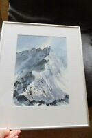 Striding Edge Helvellyn Original Watercolour/Acrylic Painting by Marilyn Tordoff