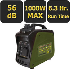Sportsman Sine Wave GENERATOR ,1,000-Watt Gasoline Powered Digital Inverter NEW