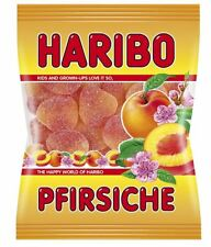 10 x BAGS HARIBO PFIRSICHE PEACHES GUMMI CANDY SWEETS - CANDIES FROM GERMANY