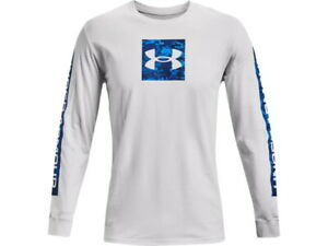 Under Armour Men's UA Camo Boxed Sportstyle Long Sleeve T-Shirt - 1366464 - New
