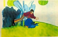 BEATLES YELLOW SUBMARINE BACKGROUND-CEL-DISPLAY-HOBBY-REPRINT-CELL SUB    B10