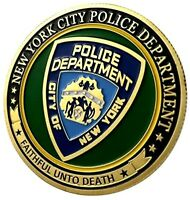 CITY OF NEW YORK POLICE DEPARTMENT CHALLENGE COIN
