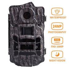 Boly 24Mp 1080P Hd Trail Camera 940nm no glow Ir Night Vision 110° for Hunting