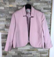 Country Casuals Ladies Size 18 Petite Pink Blazer Smart Jacket