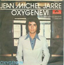 "JEAN MICHEL JARRE - OXYGENE IV  ( GERMAN POLYDOR  2001721) 7""PS  1976"