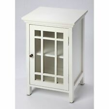 Butler Baxter Glossy White Chairside Chest