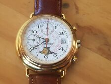 REPORTER WATCH MOONPHASE WITH VALJOUX 7768 IMPECCABLE