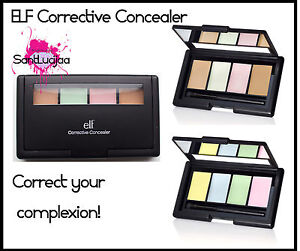 ELF E.L.F Corrective Concealer Erase Neutralize Conceal Yellow Pink Green Nude