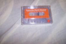 Cassette head  cleaner    for audio tape.