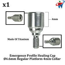 RS Dent Dental Implant Healing Cap Abutment Aesthetic Emergence Profile 4mm