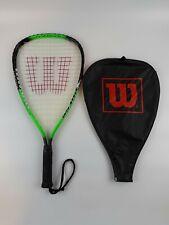 New listing Wilson Xpress Titanium Raquetball Equipment