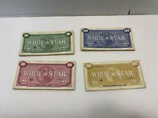Titanic Board Game Replacement Parts Pieces Play Money White Star Dollars