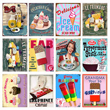 Food Signs, Retro Metal Signs/Plaques Man Cave,Novelty Gift, Man Cave, Cafe