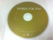 Various Artists - Words for You - Hallmark Compilation Music CD 2009 - DISC ONLY
