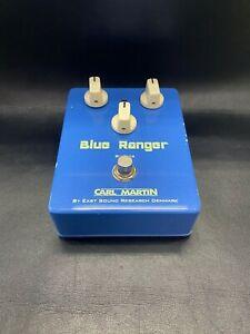 Carl Martin Blue Ranger Overdrive pedal