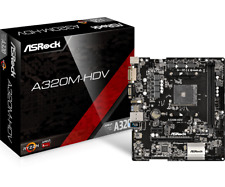 Asrock A320m-hdv Scheda Madre Socket Am4 Chipset A320 Micro-atx