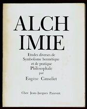 Alchimie, Symbolisme hermétique, Pratique Philosophale, Canseliet, 49 Hors Texte