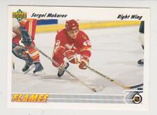 1991-92 Upper Deck Hockey #321 Sergei Makarov Calgary Flames