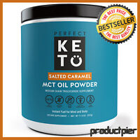 Perfect Keto MCT Oil Powder Ketosis Energy For Keto Based Diet | Salted Caramel