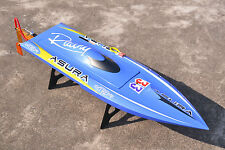 DT H750 Shark Painted Electric RC Boat Hull Only for Skilled Player KIT Blue