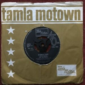 The Supremes ‎– Stoned Love, Funk/Soul, 45RPM Vinyl Single (7-inch)