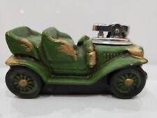 Vintage Working Ceramic Car Table Top Antique Lighter