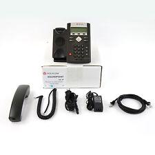 Polycom SoundPoint IP 331 SIP VoIP AC Business Telephone Phone Set - Lot Refurb